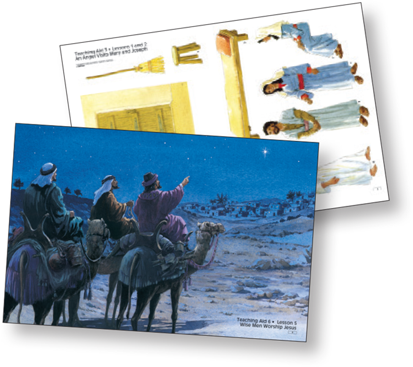 Sunday school lessons for children Bible-in-Life early-elementary creative-teachers-guide