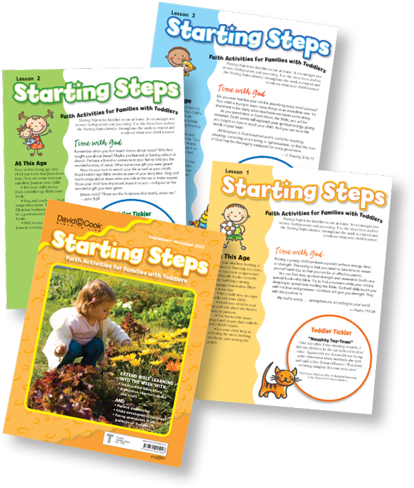 Toddler Children's Sunday School Curriculum Bible-in-Life Starting Steps