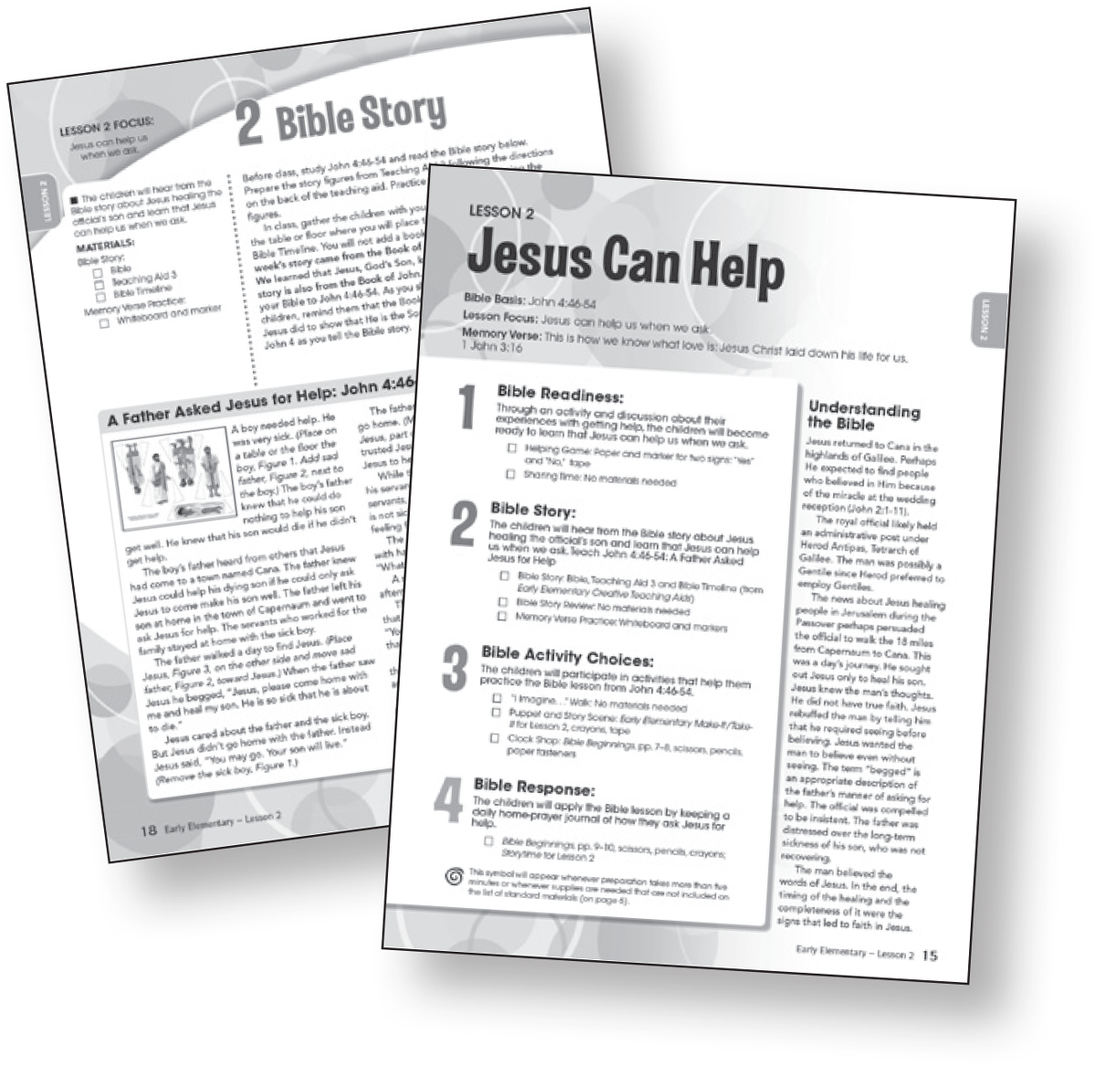 Sunday School Lessons For Kids Bible In Life Upper Elementary